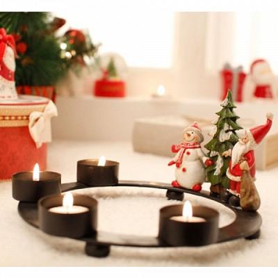 [2HOT] xmas 크리스마스 4구 촛대
