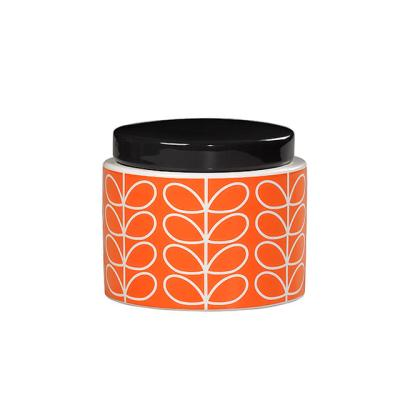 [올라카일리] 세라믹 도자기 보관용기 스몰 오렌지