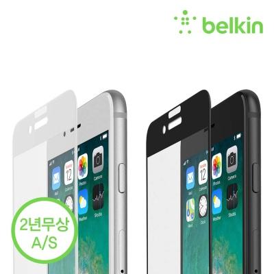 벨킨 아이폰 8+/7+용 풀커버 강화유리필름 F8W855zz