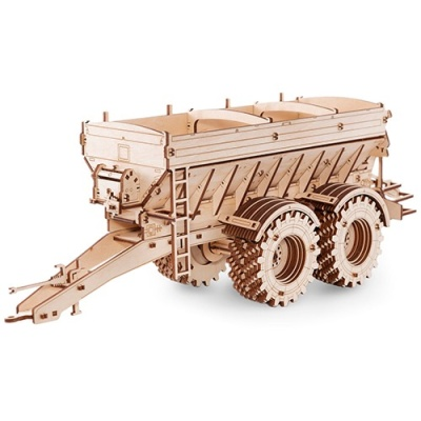 EWA 에코우드아트 3D DIY 입체 나무퍼즐 트레일러
