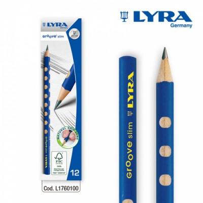 [리라] 그루브 슬림 연필  HB1자루 (낱개판매)