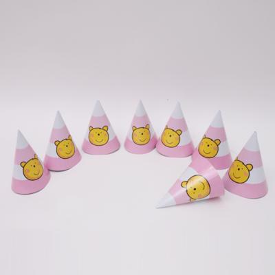조이베어 고깔모자 핑크 (8개입)