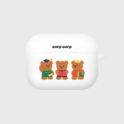 Smart bear friends-white(Air pods pro)