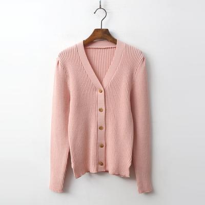 Golgi Puff V-Neck Cardigan