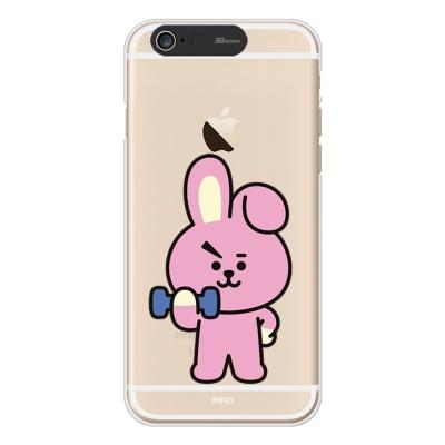 BT21 iPhone6/ iPhone6 Plus 쿠키 라이팅 케이스 (Soft)