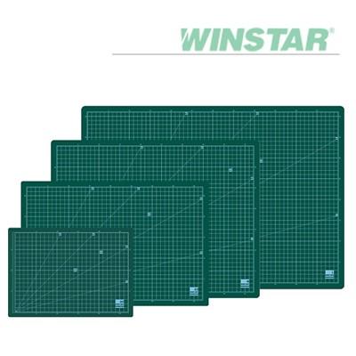 윈스타 녹색 데스크 고무매트 MEDIUM(중) 500X380