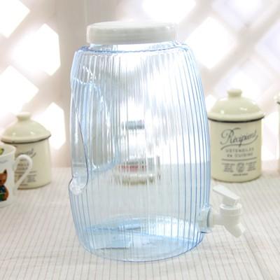 아쿠아 블루 원형 생수통 4.7L (핸디형)