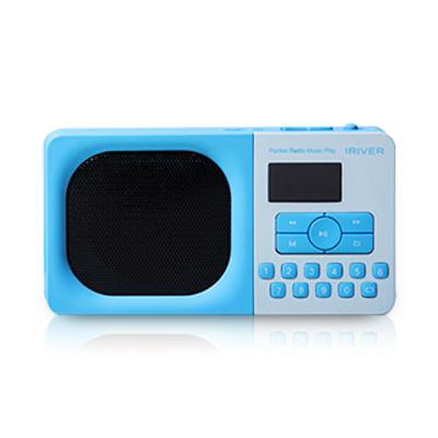 아이리버 포켓 라디오 뮤직 플레이어 IRS-B303 블루