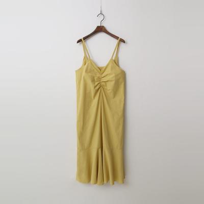 Linen Cotton Cami Long Dress