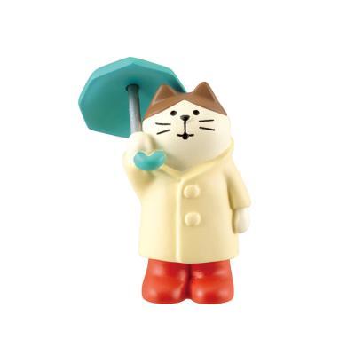 데꼴 concombre 마스코트 (우산 쓴 고양이)