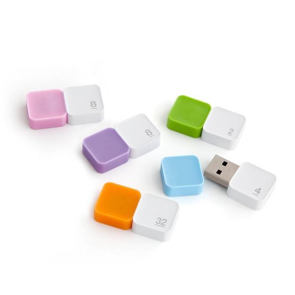 메모렛 소프티 8G 바이올렛 USB메모리
