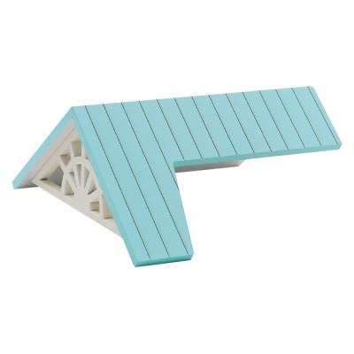 DIY 미니어처하우스 미니타운 추가상품_원룸 지붕