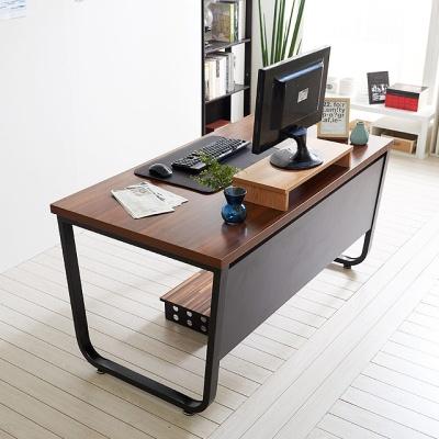 스틸뷰 1200책상 각진프레임 테이블