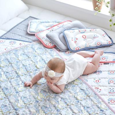 인견 아기 쿨매트 2종(쿨매트+쿨베개) (디자인선택)