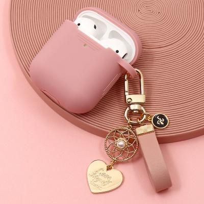 [선물포장]드림캐쳐 탄생석 이니셜 에어팟2 케이스 키
