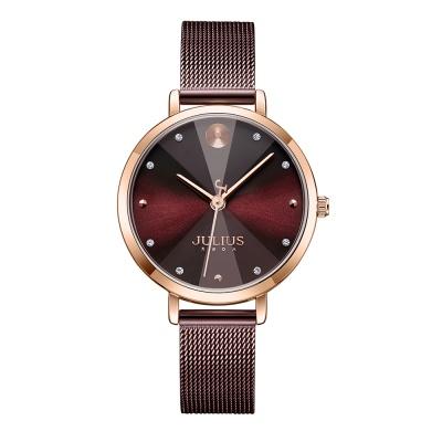 [쥴리어스공식] JA-1222 여성시계 손목시계 메쉬밴드