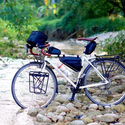 아이베라 생활방수 자전거 트라이앵글 탑튜브 가방