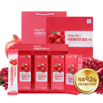 [충북인삼농협] 석류콜라겐 젤리스틱 20gx30포