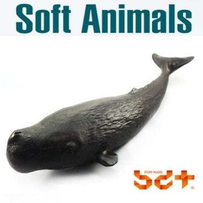 반디 향유고래 말랑말랑 소프트피규어 동물모형완구