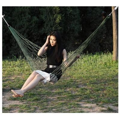 캠핑 그물 침대 해먹(그린) (200x80cm) /그물침대