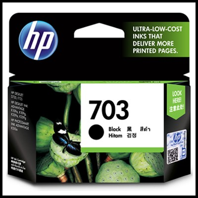 HP CD887AA / No.703 / Black