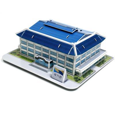 건물 입체퍼즐 - 태권도 국기원 저금통