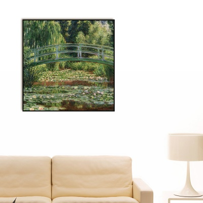 [THE BELLA] 모네 - 일본풍 다리와 수련 연못 The Japanese Footbridge and the Water Lily Pool