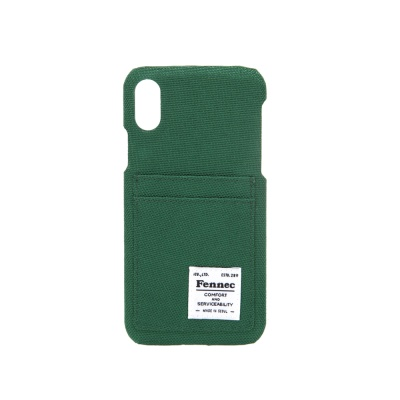 FENNEC C&S iPHONE X CASE - GREEN