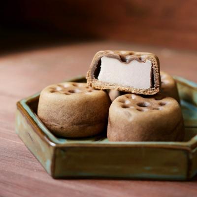 [오븐] 맛있는 추억여행, 연탄빵 10개입 (초코빵+복분자앙금)