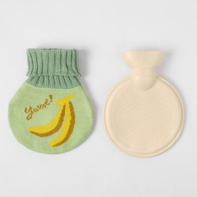 더달달 니트 보온 물주머니(350ml) (바나나)