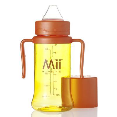 [MiiBaby]마이베이비 9oz 포에버™ 스파우트컵(옐로/오렌지)