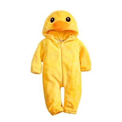 [엠엘스토리] 플라잉더키 옐로 방한우주복