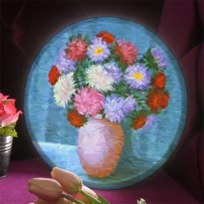 nb451-LED액자25R_꽃과화병