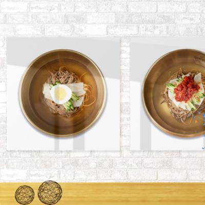 ie613-아크릴액자_메밀국수와국밥먹자(중형)