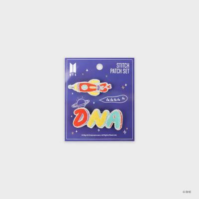 [BTS] DNA_자수 핀뱃지 세트
