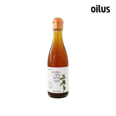 [오일러스] 고소하고 알찬 들기름 (중국산) 300ml