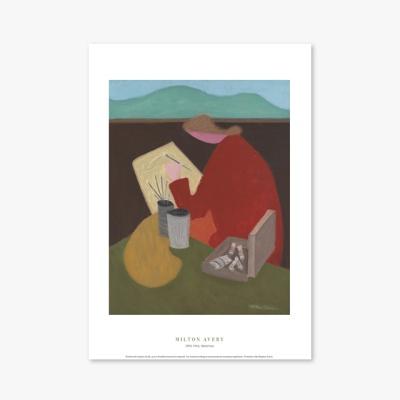 현대작가 포스터 갤러리 액자 056 Milton Avery Sketcher