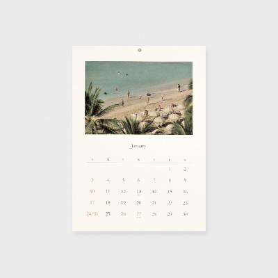 2021 Calendar _ Wishing for Bon voyage
