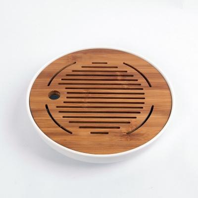 티앤차 원형 다기트레이 차판(25.5cm)