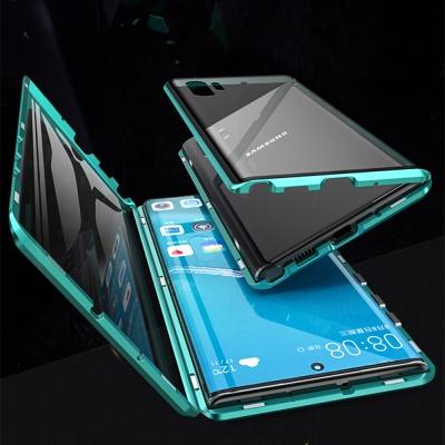 갤럭시s21 s21+ Ultra5G 풀커버 메탈 마그네틱 케이스