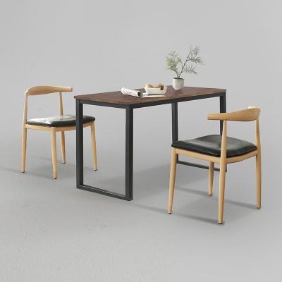 디보엘 식탁 세트B 1400 + 의자 2개포함 (착불)