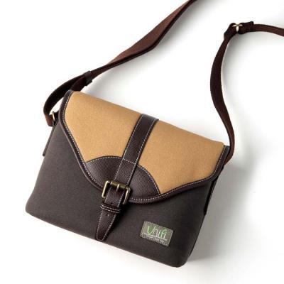 유니피 스마트 크로스 카메라 가방 - 베이지 / 소형카메라 가방