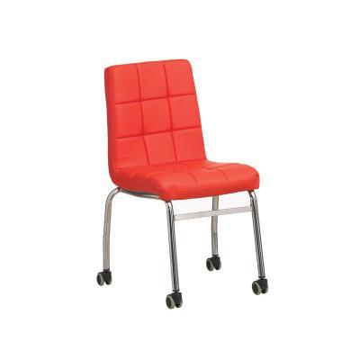 자이푸 엠보 쿠션 의자 바퀴형