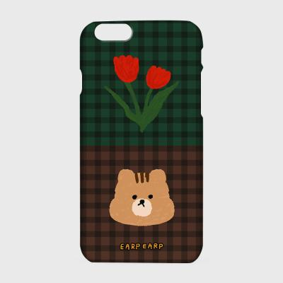 Check rose squirrel-green/brown