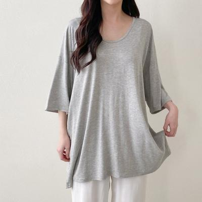 Easy V-Neck Long Tee