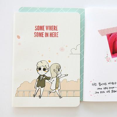 썸툰 스티치노트 M 무선  (웹툰)