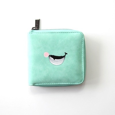 [kiitos]ANIMAL MINI WALLET2 - WHALE