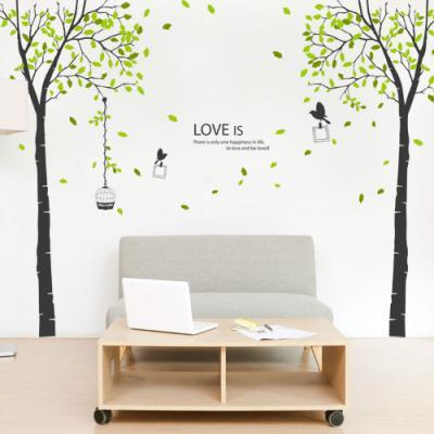 ph372-나뭇잎이흩날리는올리브트리_그래픽스티커