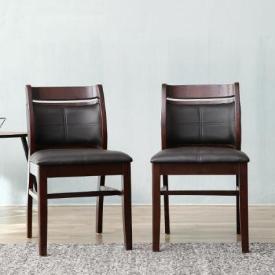[리비니아]쿠퍼 가죽 의자 1+1 2colors