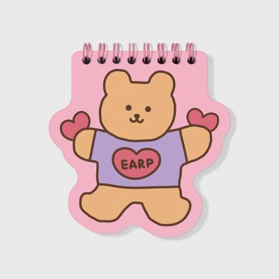Bear heart-pink(스프링노트)(S)